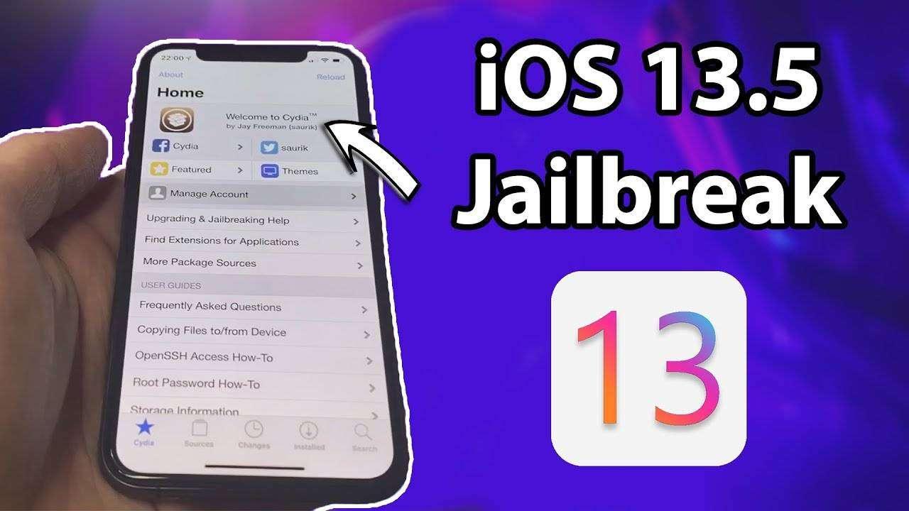 jailbreak ios 13 5