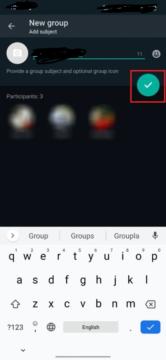 كيفية عمل مجموعة على الواتس اب لاجهزة اندرويد و ايفون و الكمبيوتر 3