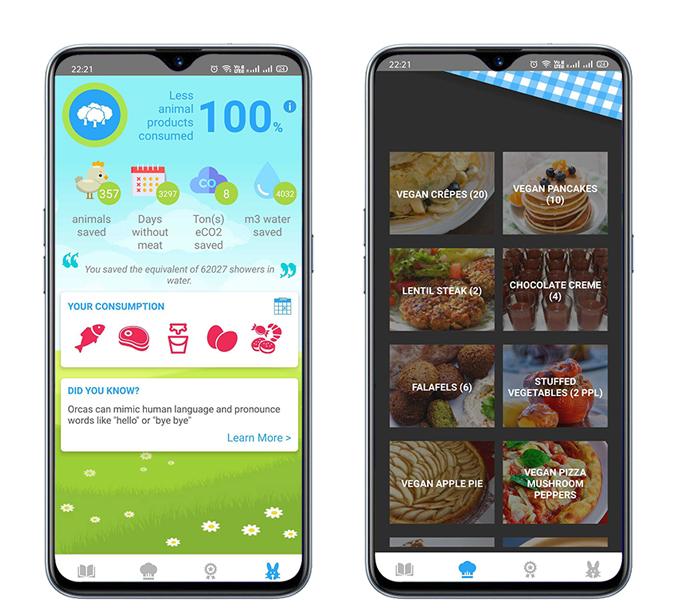 أفضل تطبيقات الأكل النباتي للأندرويد 2020