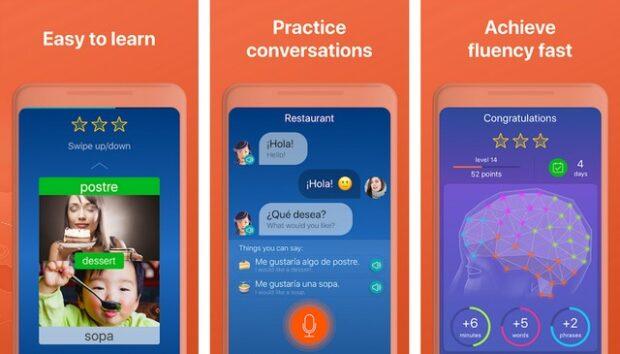 أفضل تطبيقات تعلم اللغة الإسبانية للأندرويد 2020 3