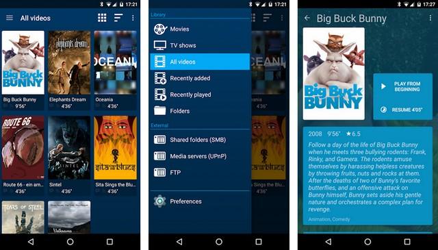 تطبيقات مشغل فيديو Video Player للأندرويد