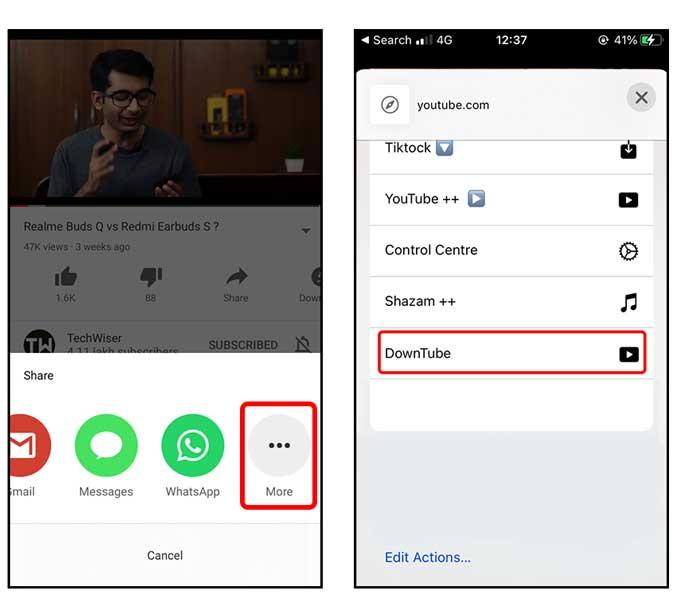 تحميل فيديوهات اليوتيوب على الايفون من خلال أفضل 3 طرق 1