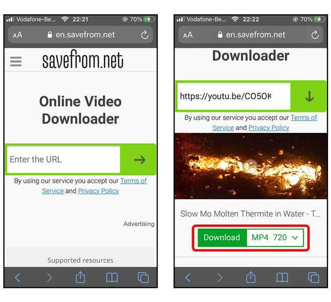 تحميل فيديوهات اليوتيوب على الايفون من خلال أفضل 3 طرق
