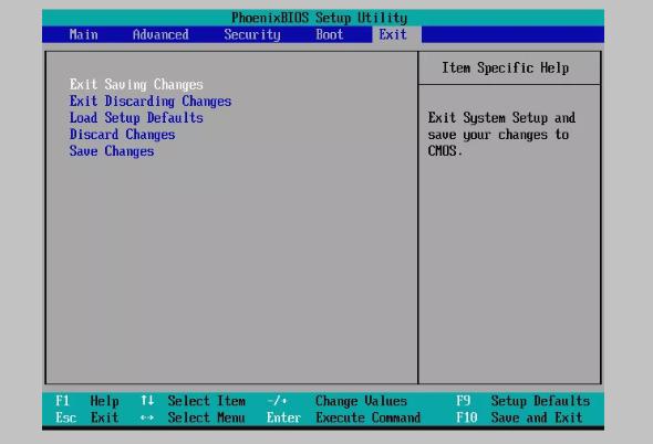 ضبط الاقلاع من اعدادات البيوس BIOS BOOT 7