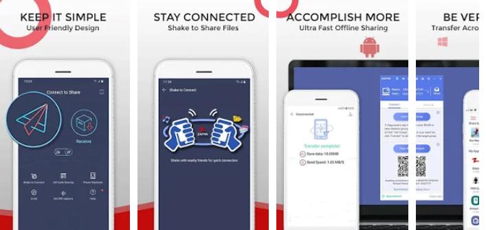 كيفية مشاركة التطبيقات و الملفات على الاندرويد