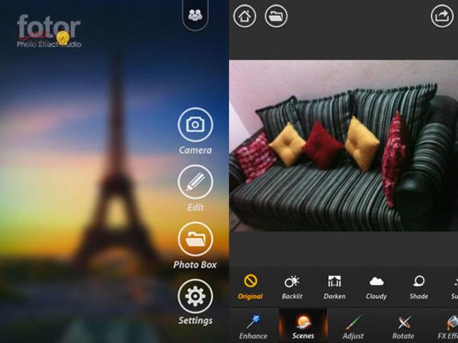 تطبيق Fotor Editor | برنامج تعديل الصور الفوتوغرافية