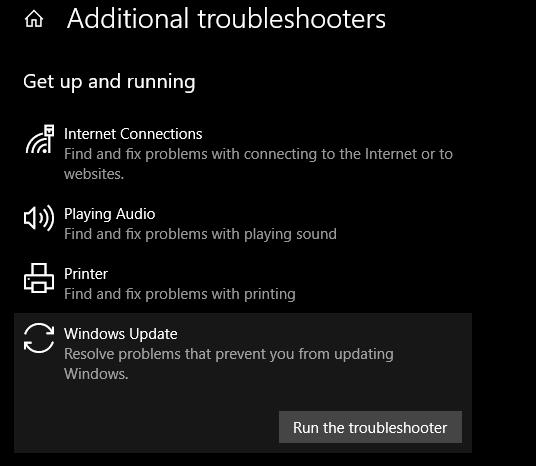 حل مشكلة عدم تحديث ويندوز 10 وظهور خطأ 0x80070422 2
