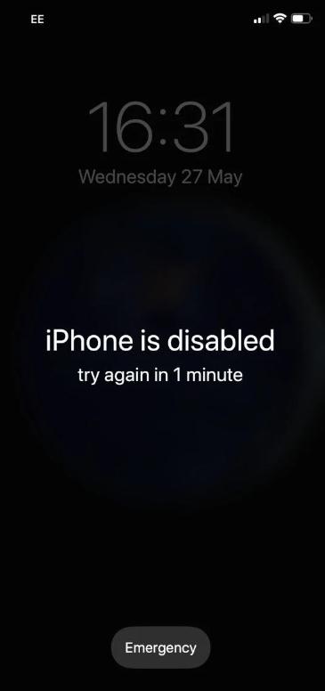حل مشكلة ايقاف الايفون iPhone Is Disabled