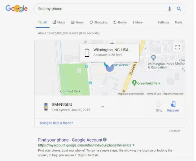 كيفية العثور على الهاتف الاندرويد المفقود