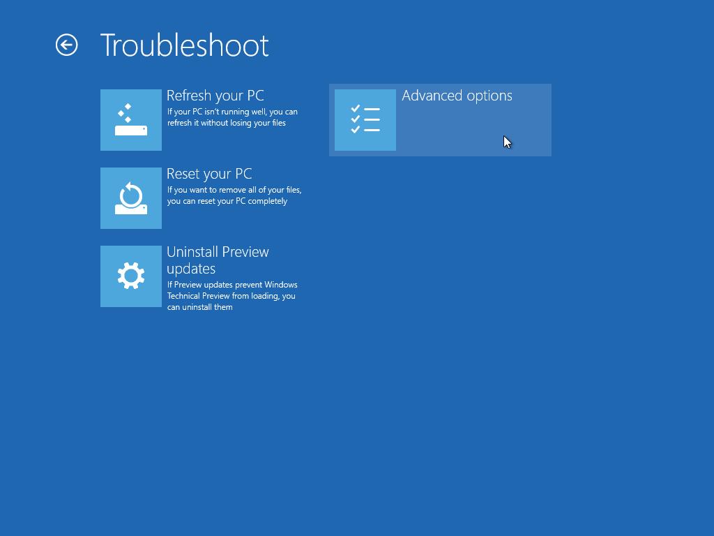 تشغيل الوضع الآمن safe mode في windows 10