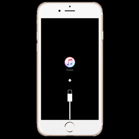 حل مشكلة الشاشة البيضاء في الايفون