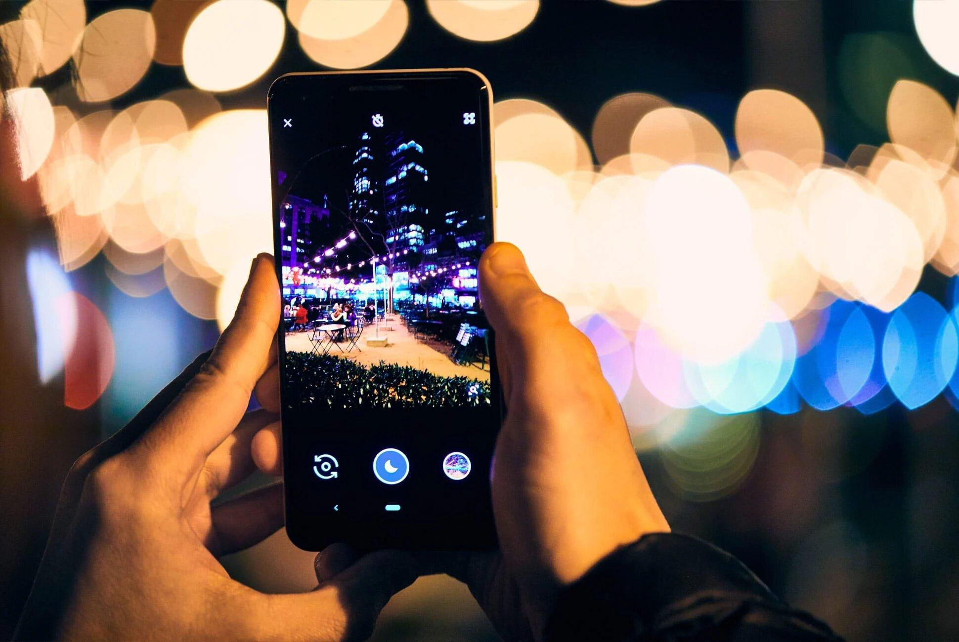 كاميرا التصوير الليلي
