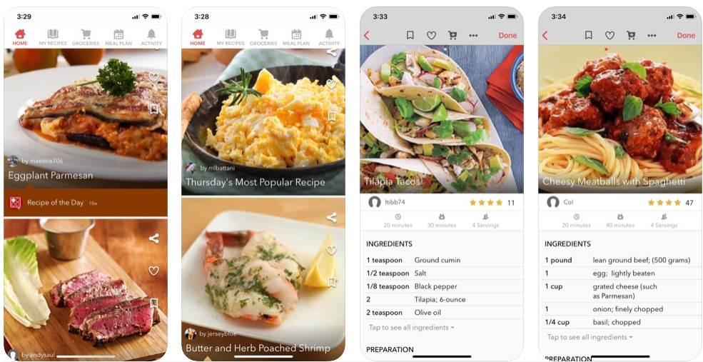 افضل تطبيقات الطبخ للايفون 2020