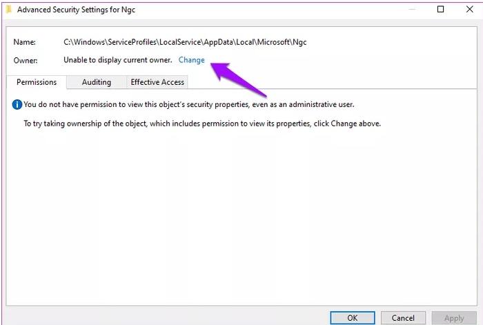 حل مشكلة تسجيل الدخول الى ويندوز 10 برمز الـ PIN