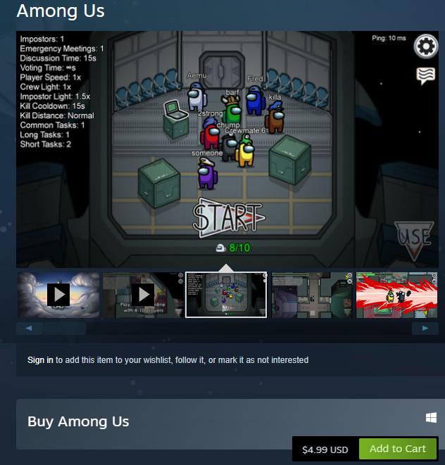 كل ما تريد معرفته عن لعبة Among Us 6