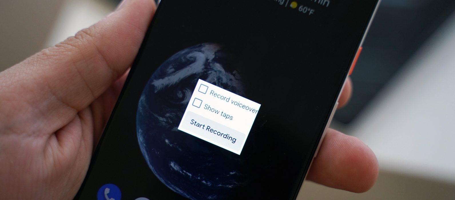 كيفية تسجيل الشاشة على الاندرويد