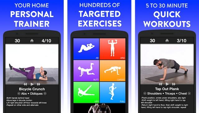 تطبيقات التمارين الرياضية