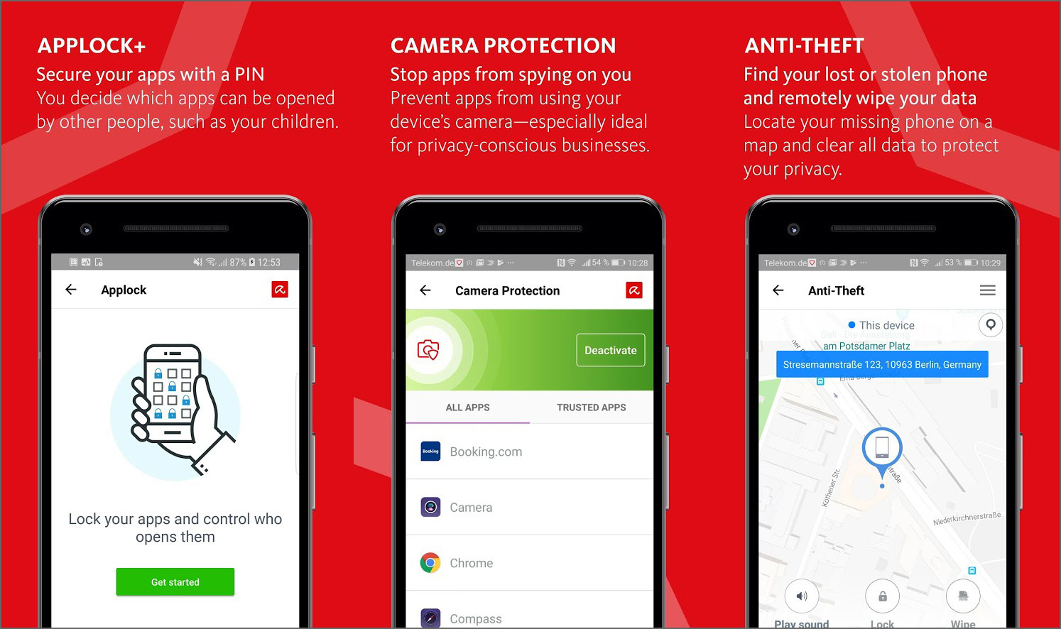أفضل تطبيقات مكافحة الفيروسات وحماية الهاتف 2021