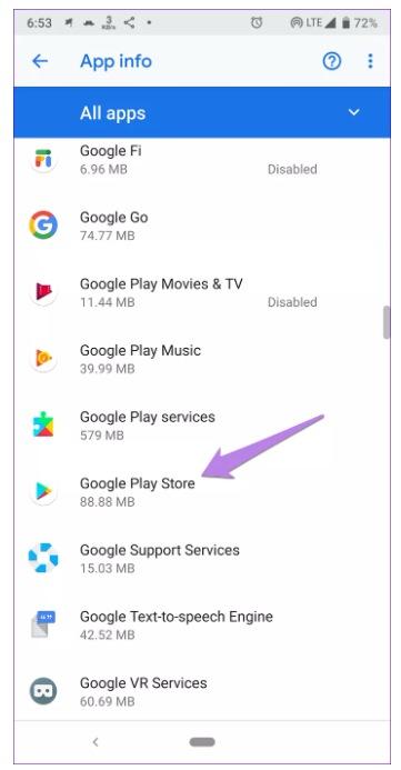 حل مشكلة التحقق من تحديث التطبيقات على جوجل بلاي