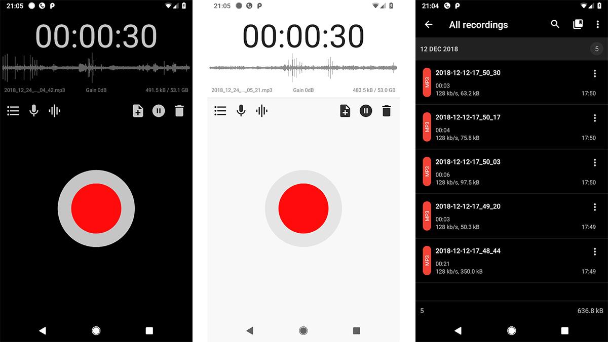 أفضل تطبيقات تسجيل الصوت للاندرويد وتحسينه 2021