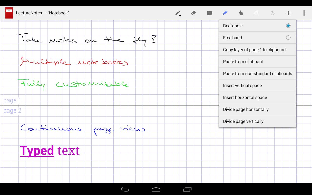 تطبيق LectureNotes