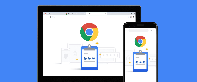 تغيير كلمات مرور متصفح Google Chrome