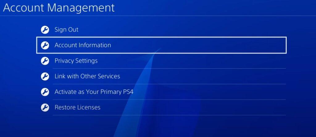 كيفية تغيير باسورد PS 4 او اعادة تعيينها