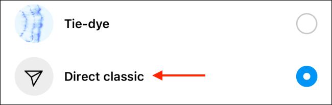 طريقة تغيير لون محادثة الانستقرام [محادثات الانستا ملونه] 7