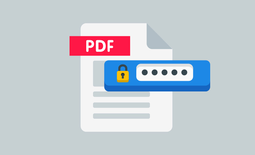 حماية ملفات Pdf بكلمات مرور