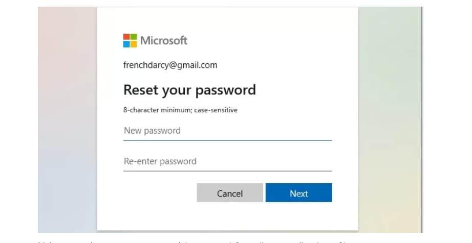 كيفية تغيير باسورد windows 10 او اعادة تعيينه
