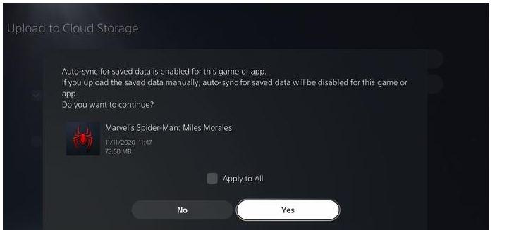 نقل ملفات حفظ PS4 الى PS5 و بيانات التخزين السحابي 4