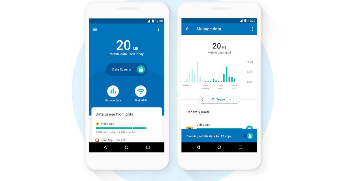 افضل التطبيقات للحفاظ على استهلاك بيانات الهاتف 2021