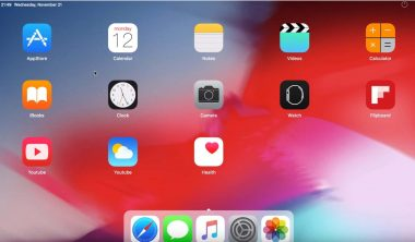 افضل محاكيات iOS لتشغيل تطبيقات الايفون على الكمبيوتر 2021