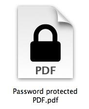 كيفية حماية ملفات Pdf بكلمات مرور