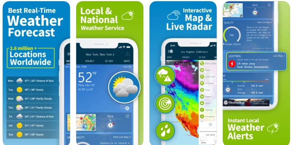 افضل تطبيقات الطقس لمتابعة الاحوال الجوية 2021