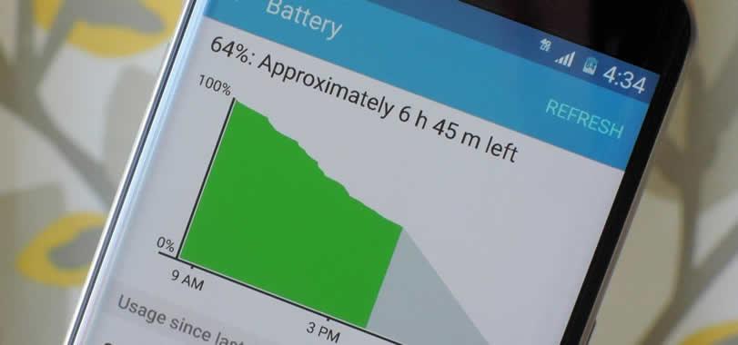 كيفية الحفاظ على بطارية الهاتف الاندرويد لاطول وقت