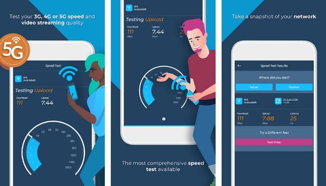 تطبيقات قياس سرعة الإنترنت