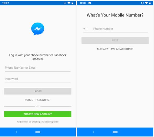 طرق استعادة حساب المسنجر Messenger 2