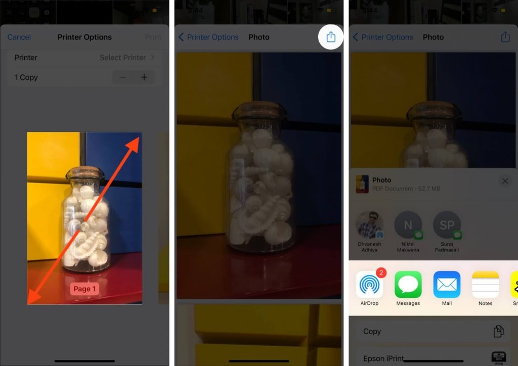 كيفية تحويل صورة إلى ملف PDF على أيفون 2