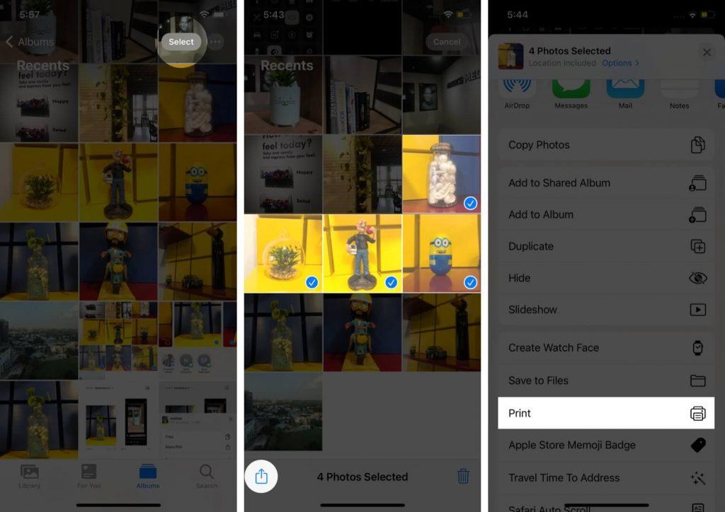 كيفية تحويل صورة إلى ملف PDF على أيفون 1