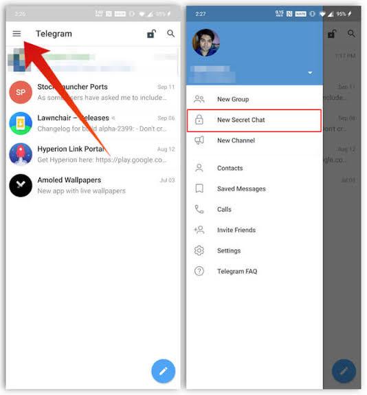 ٥ طرق لضبط الخصوصية والأمان على تليجرام 2