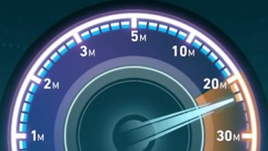 كيفية قياس سرعة النت لشركة we