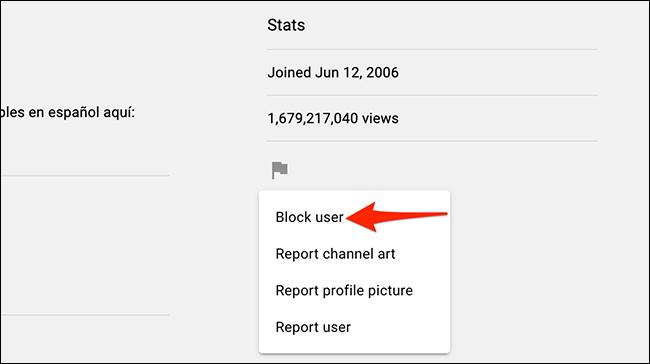 كيفية منع قنوات يوتيوب معينة من الظهور على صفحتك الرئيسية 4