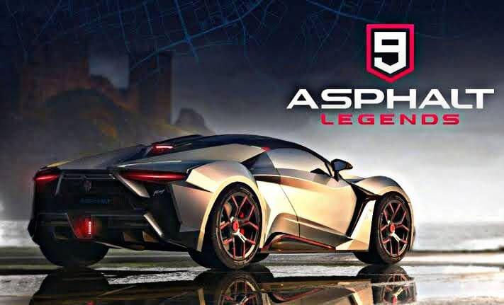 تحميل لعبة asphalt 9