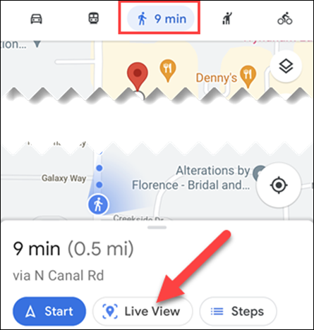 كيفية مشاهدة الاتجاهات ثلاثية الأبعاد في خرائط جوجل 2