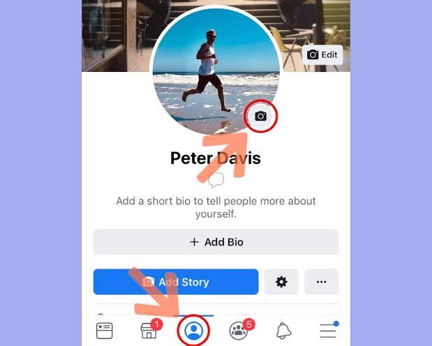 طريقة وضع فيديو بديل صورة البروفايل على فيس بوك في الأندرويد والأيفون 2021 2