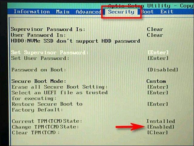 ما هي شريحة Tpm 2.0 و كيفية تفعيلها لتثبيت ويندوز 11 9