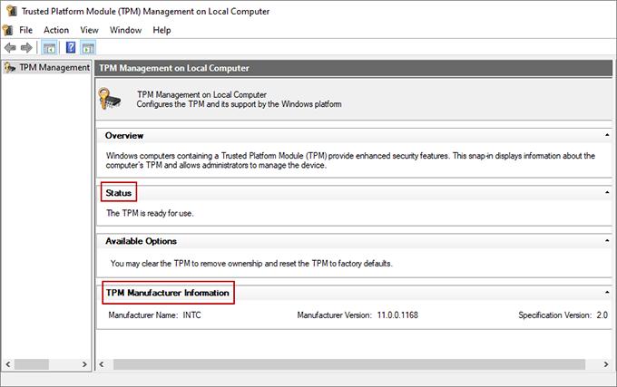ما هي شريحة Tpm 2.0 و كيفية تفعيلها لتثبيت ويندوز 11 6