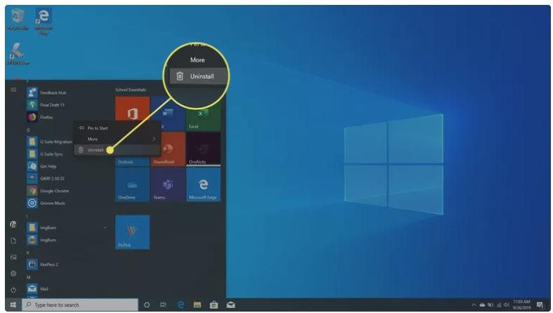 كيفية حذف البرامج من الكمبيوتر بشكل نهائي 2