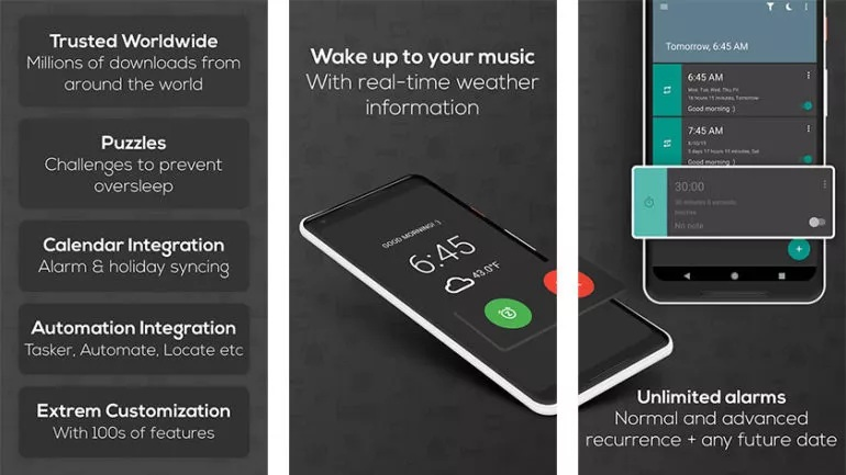 أفضل تطبيقات الساعة الرقمية